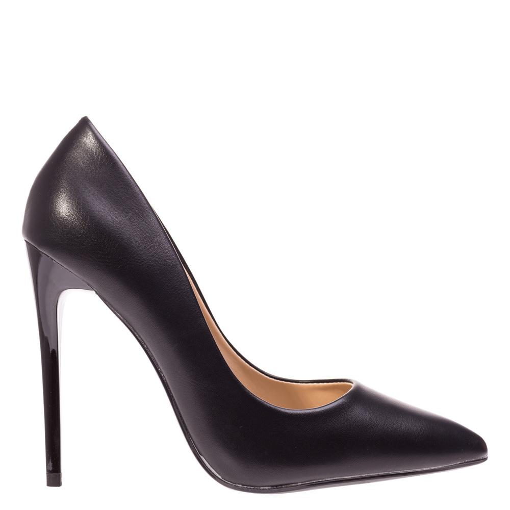Pantofi stiletto Amelie negri