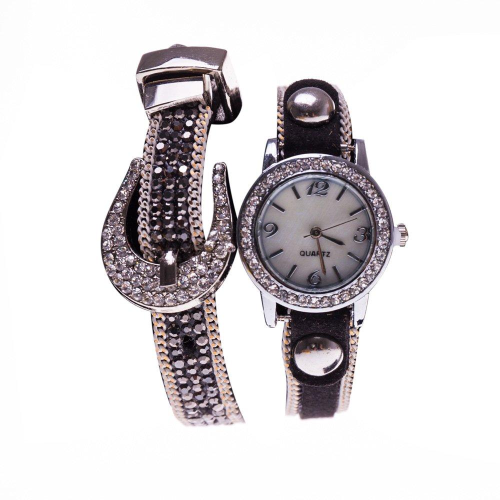 Ceas dama M5-261 argintiu cu negru