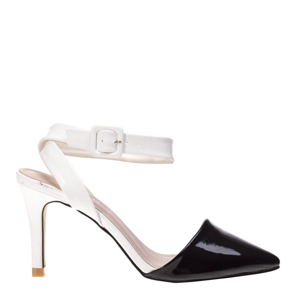 Sandale dama Betsy albe