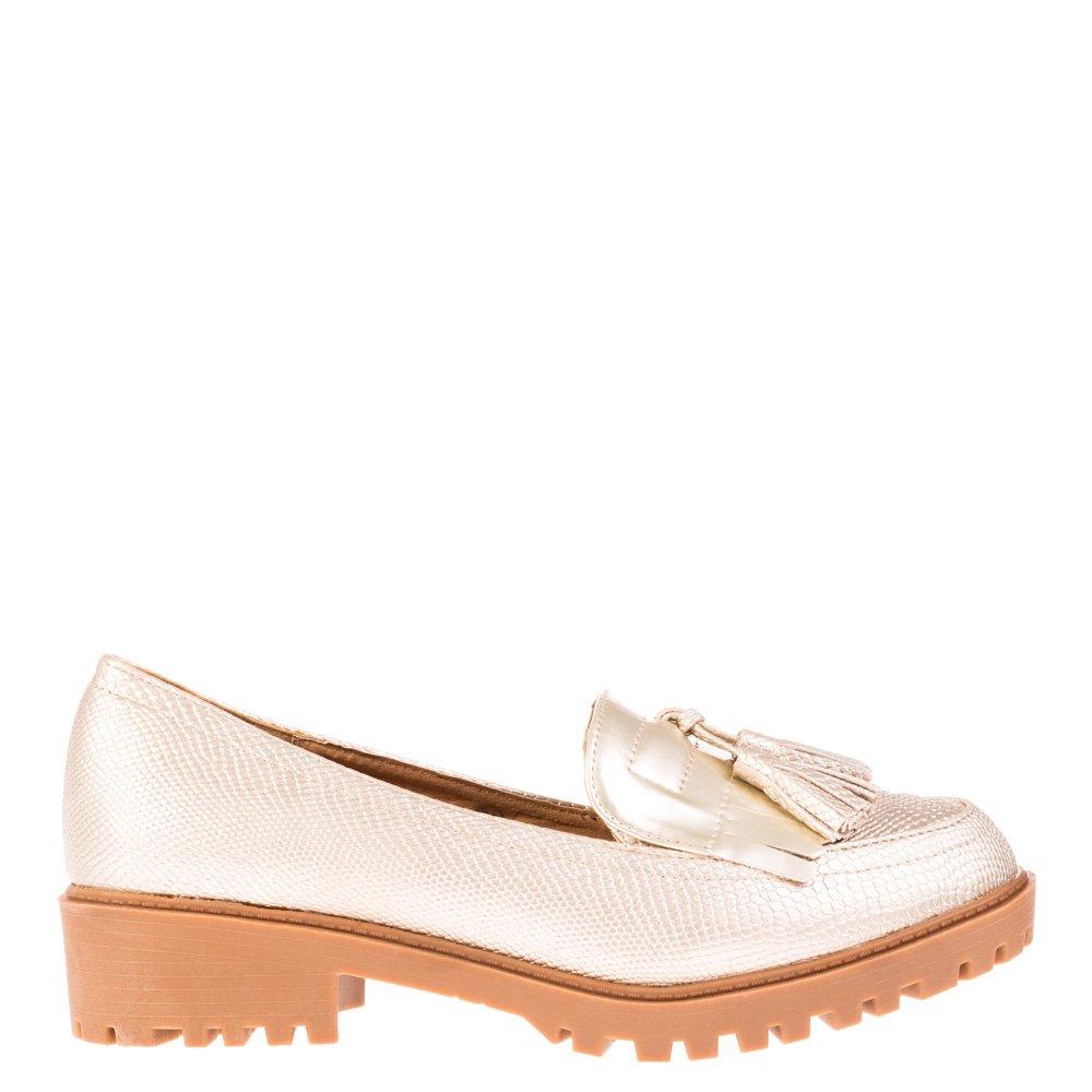 Pantofi dama Cleo aurii