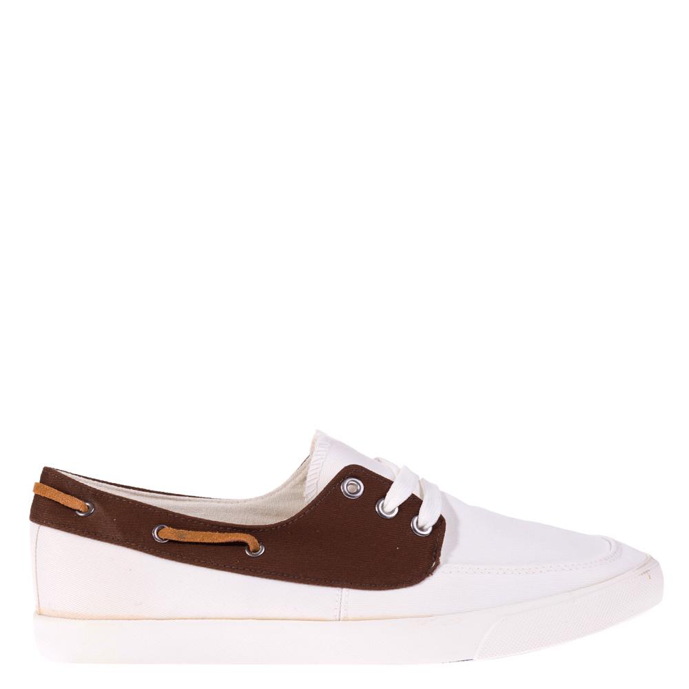 Pantofi barbati Geraldo albi
