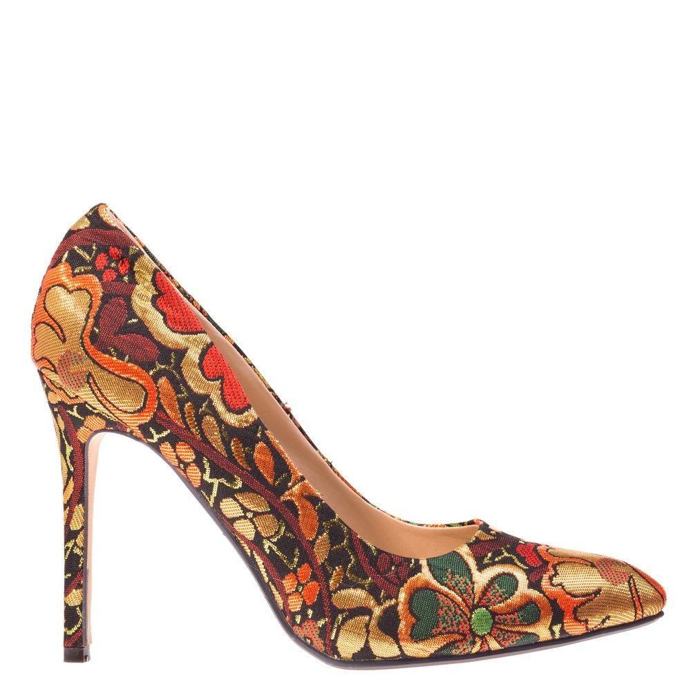 Pantofi stiletto April rosii