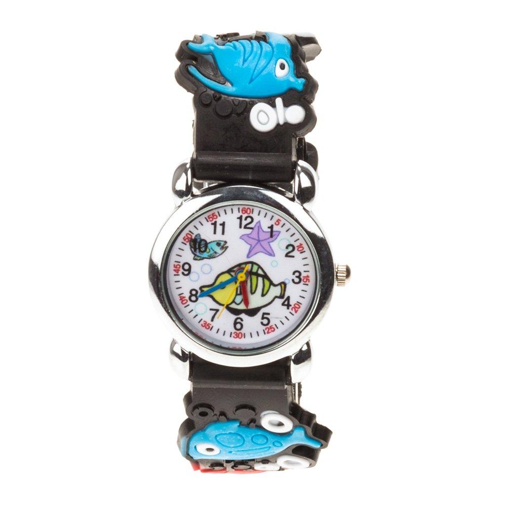 Ceas pentru copii 1609 negru