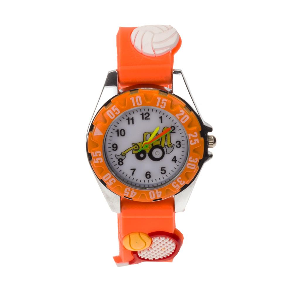 Ceas pentru copii 1613 portocaliu