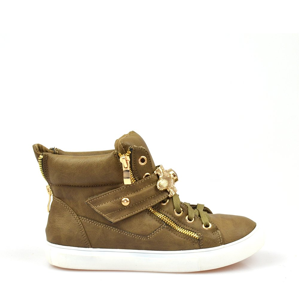 Sneakers Dama Khaki Kraus