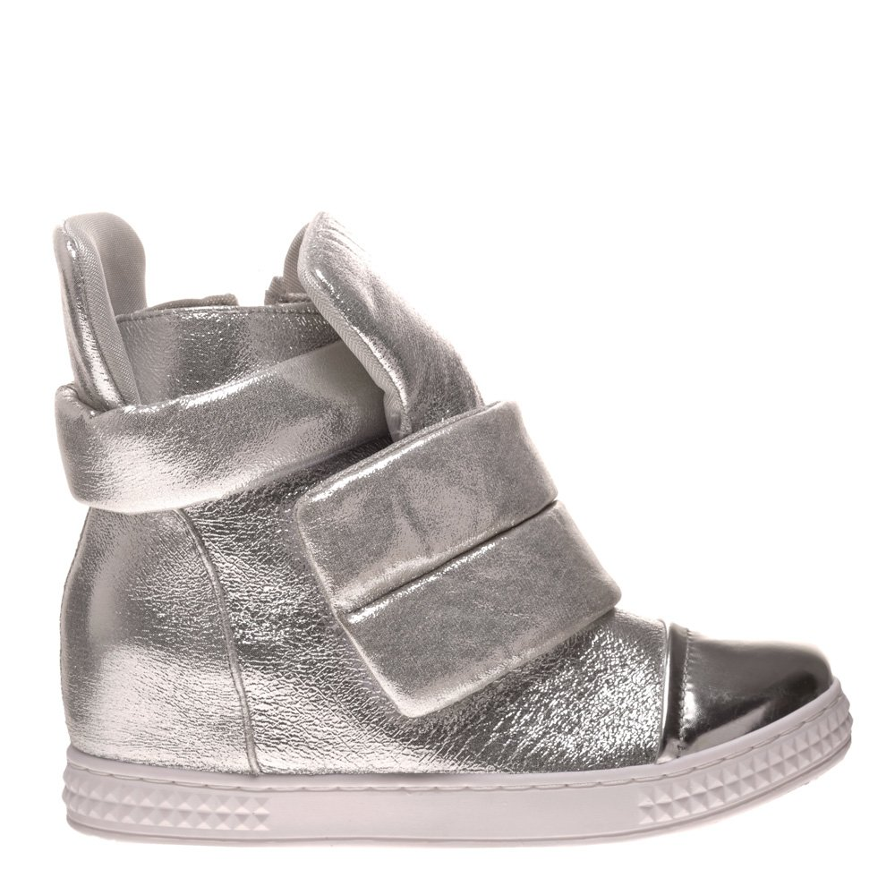 Pantofi Sport Dama Olivia Argintii