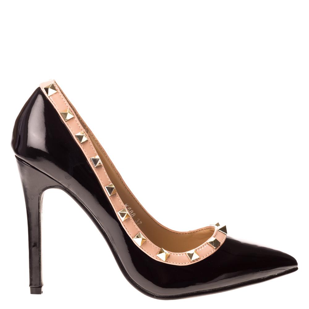 Pantofi stiletto Eluise negri