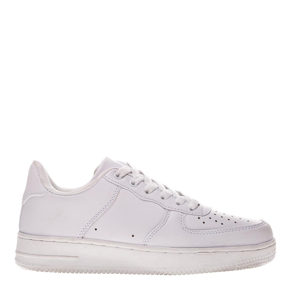 Pantofi sport unisex Janice albi