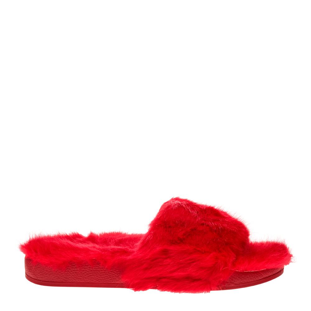 Papuci dama Elena rosii