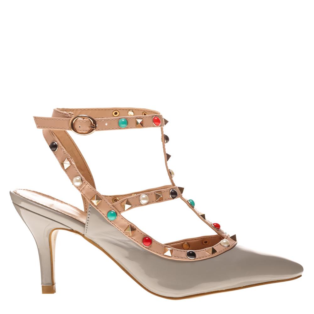 Sandale dama Amber gri