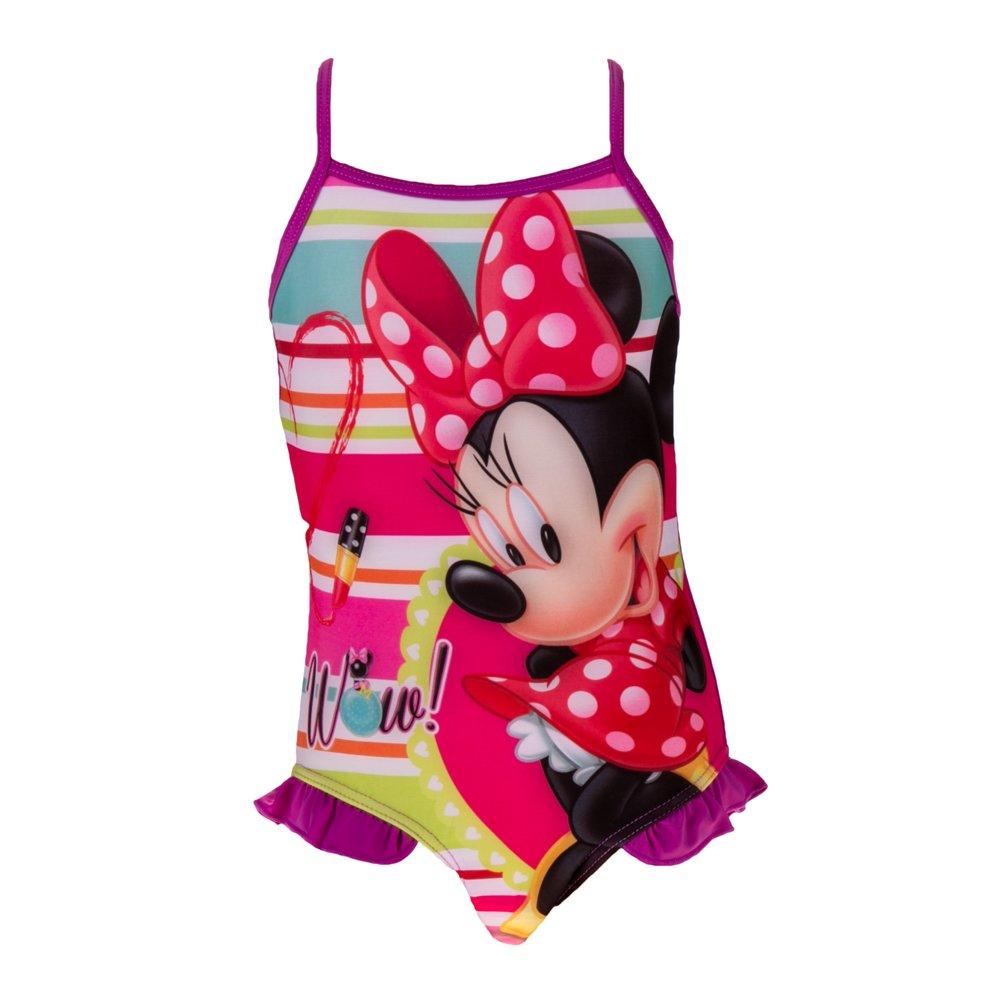 Costum de baie fete Minnie Mouse mov