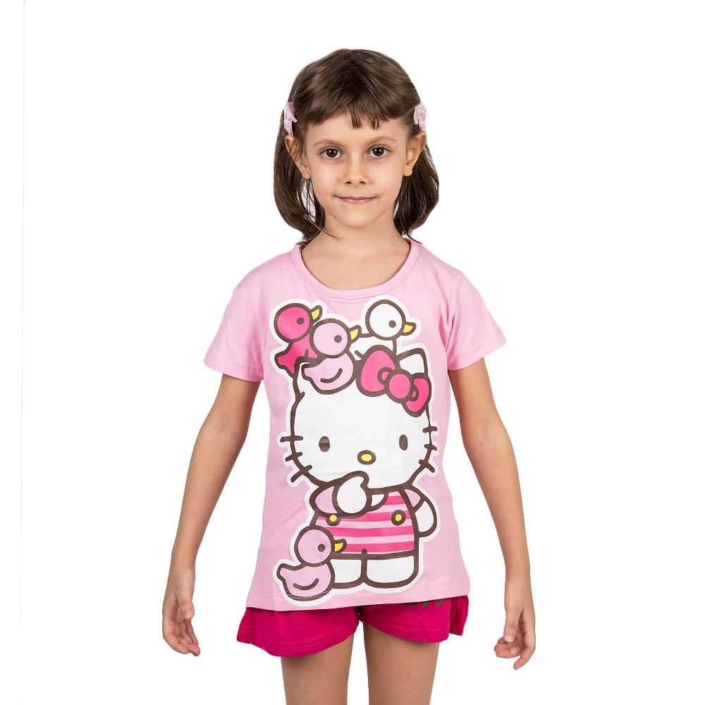 Compleu fete Hello Kitty Ducks roz
