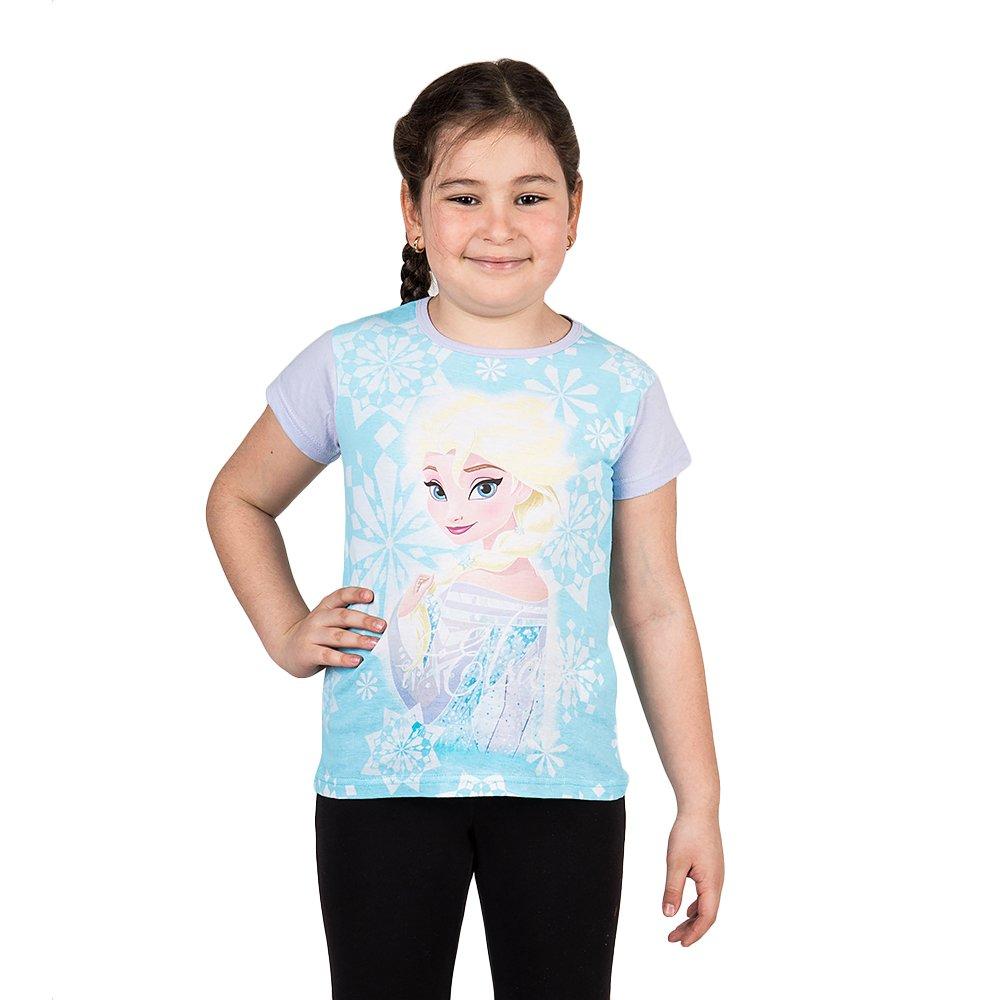 Tricou fete Frozen Elsa mov