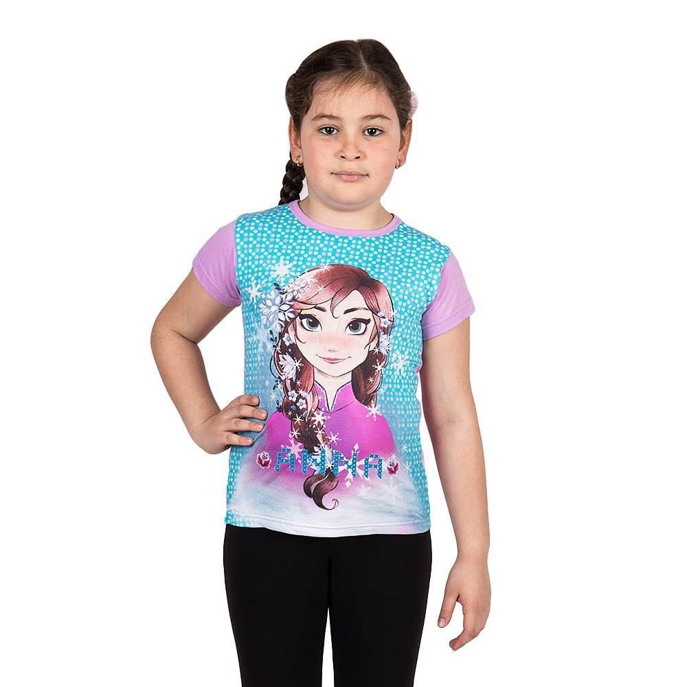 Tricou fete Frozen Anna mov