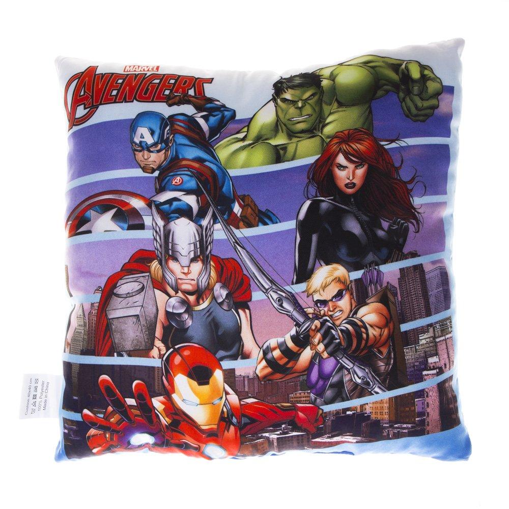 Perna Avengers 40x40 albastra