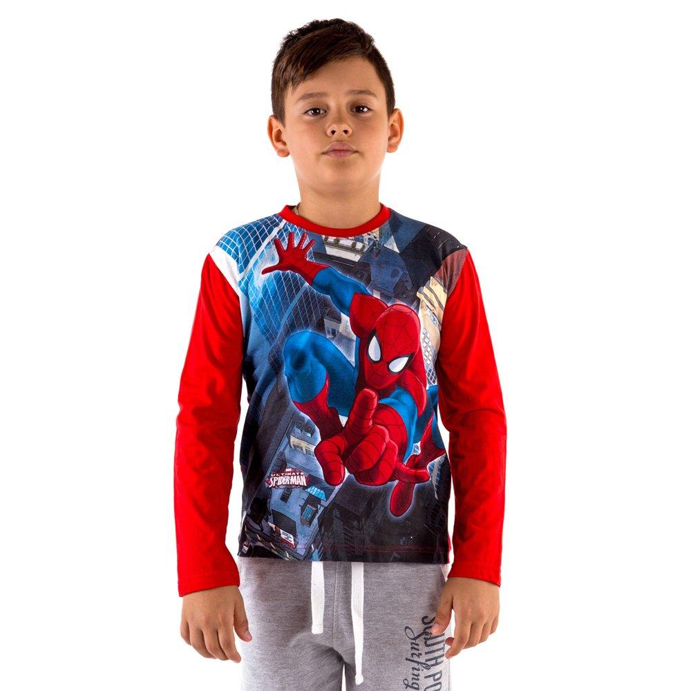 Bluza baieti Ultimate Spider-Man rosie