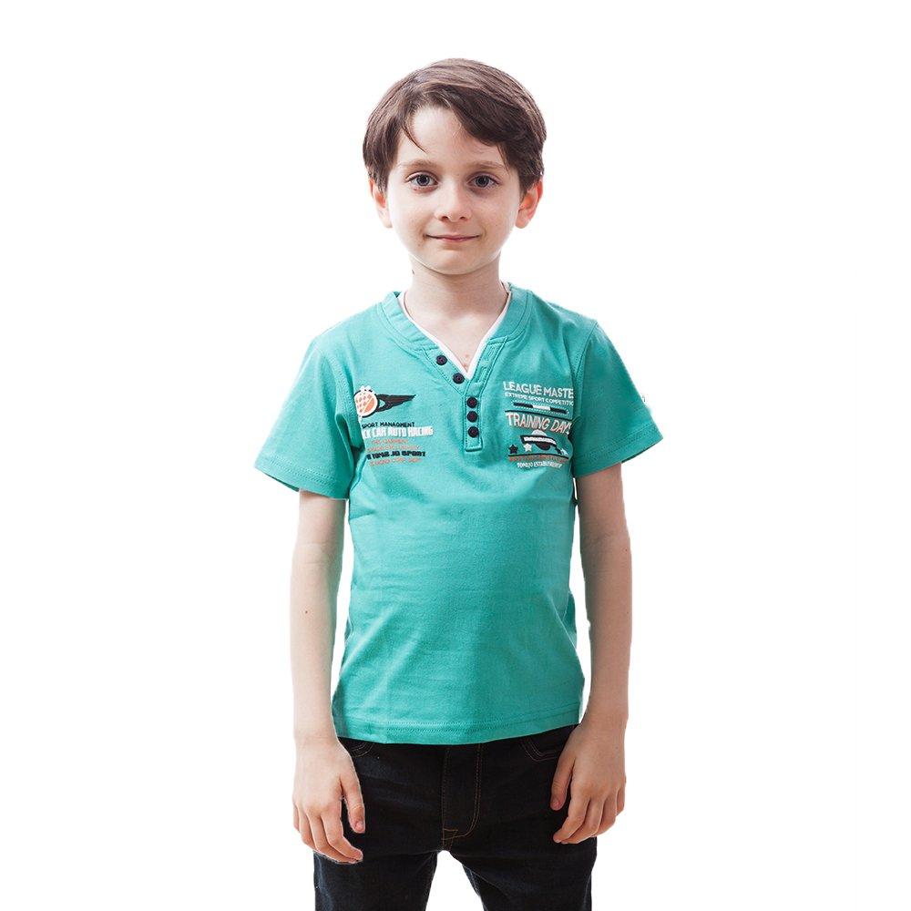 Tricou baieti Tom Jo Academy verde