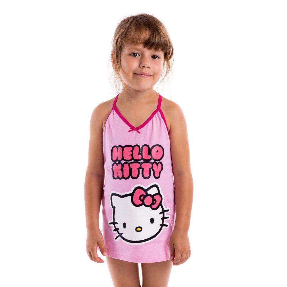 Set maiou si chiloti fete Hello Kitty roz