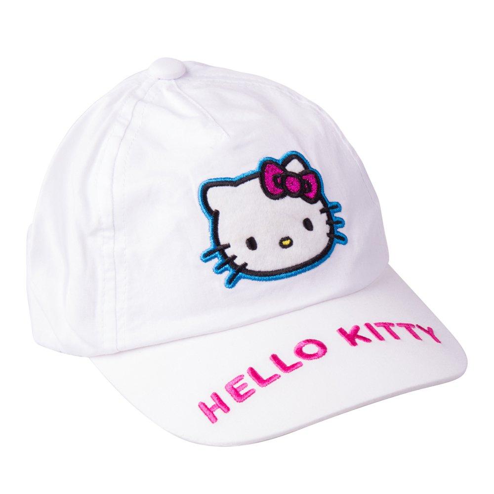 Sapca fete Hello Kitty alba
