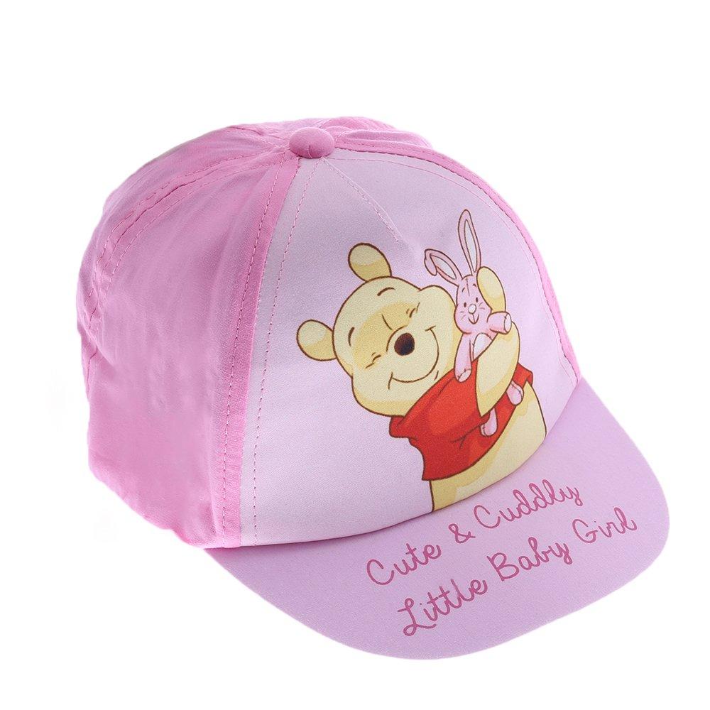 Sapca Bebe Winnie Cute & Cuddly Roz Cu Fucsia