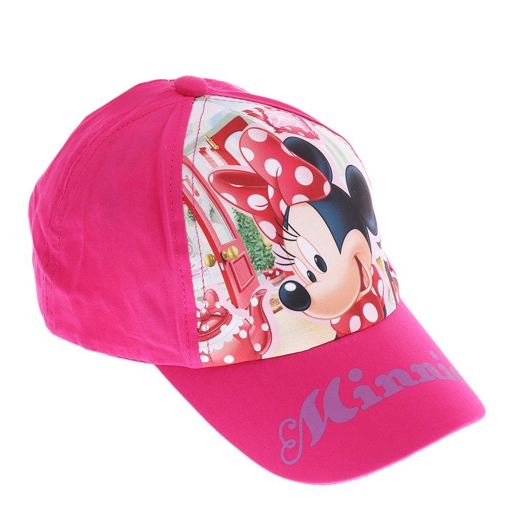 Sapca fete Minnie Mouse Cookie fucsia