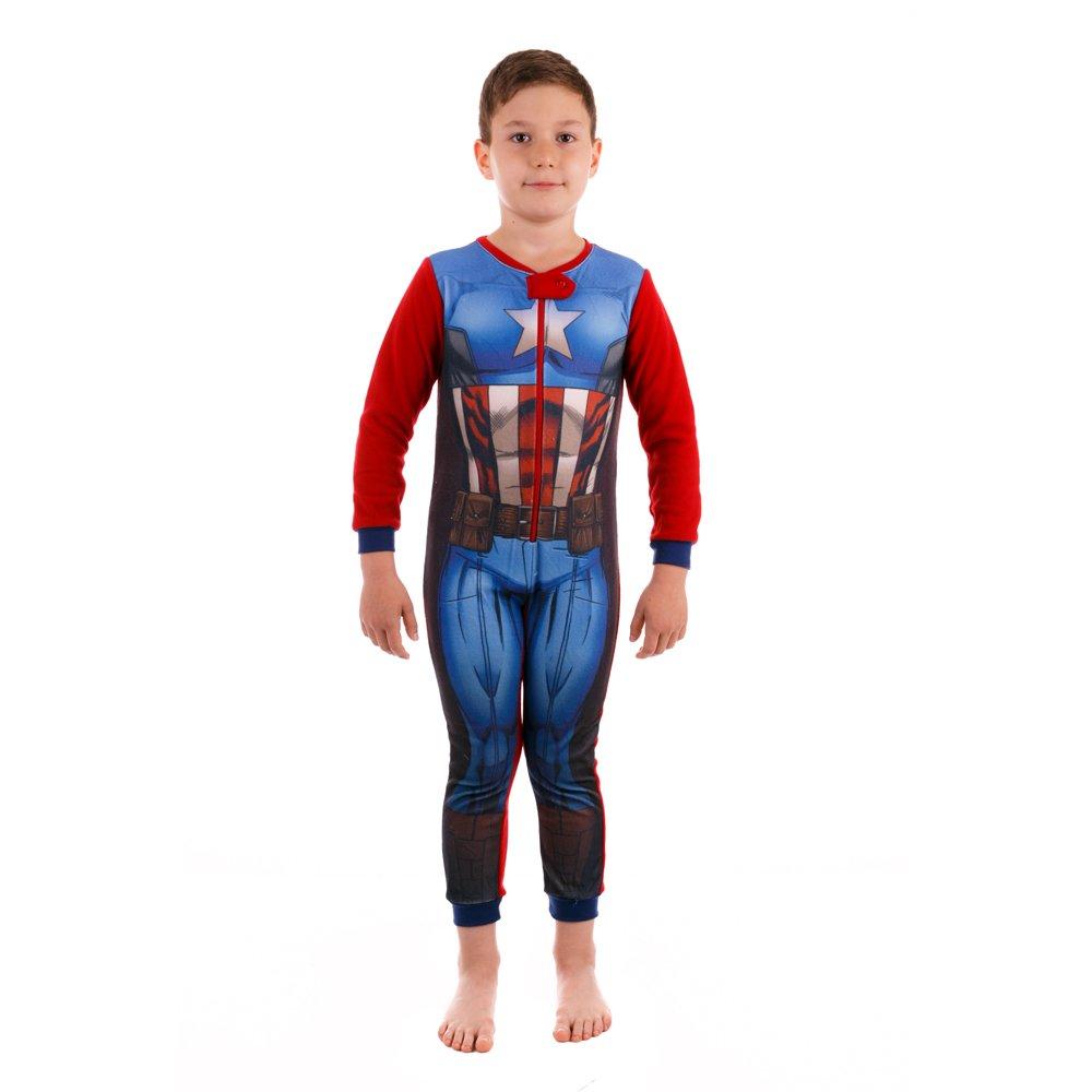 Pijama salopepta baieti Avengers rosie