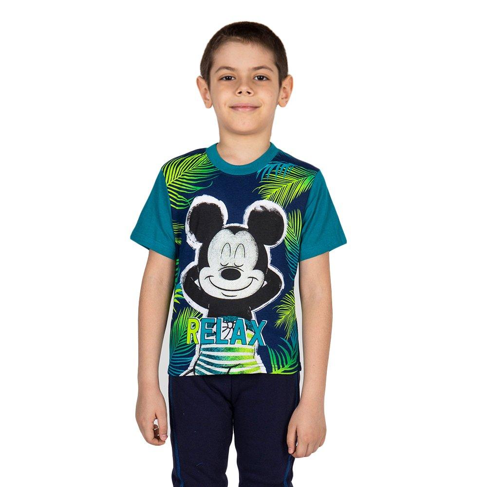 Tricou baieti Mickey Mouse Relax albastru