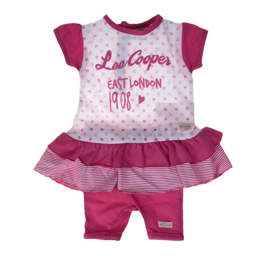 Lee Cooper ? Compleu bebe East London 1908 roz