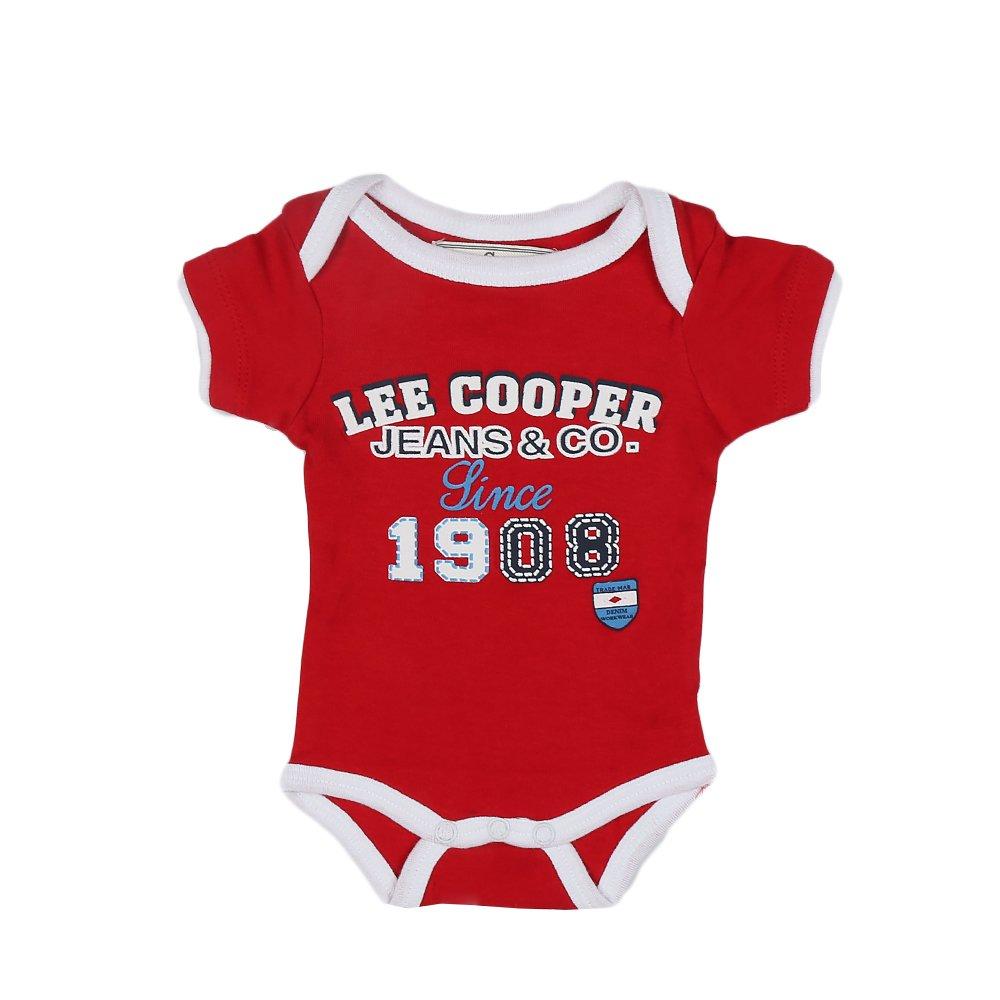 Lee Cooper ? Body bebe Since 1908 rosu cu margini albe