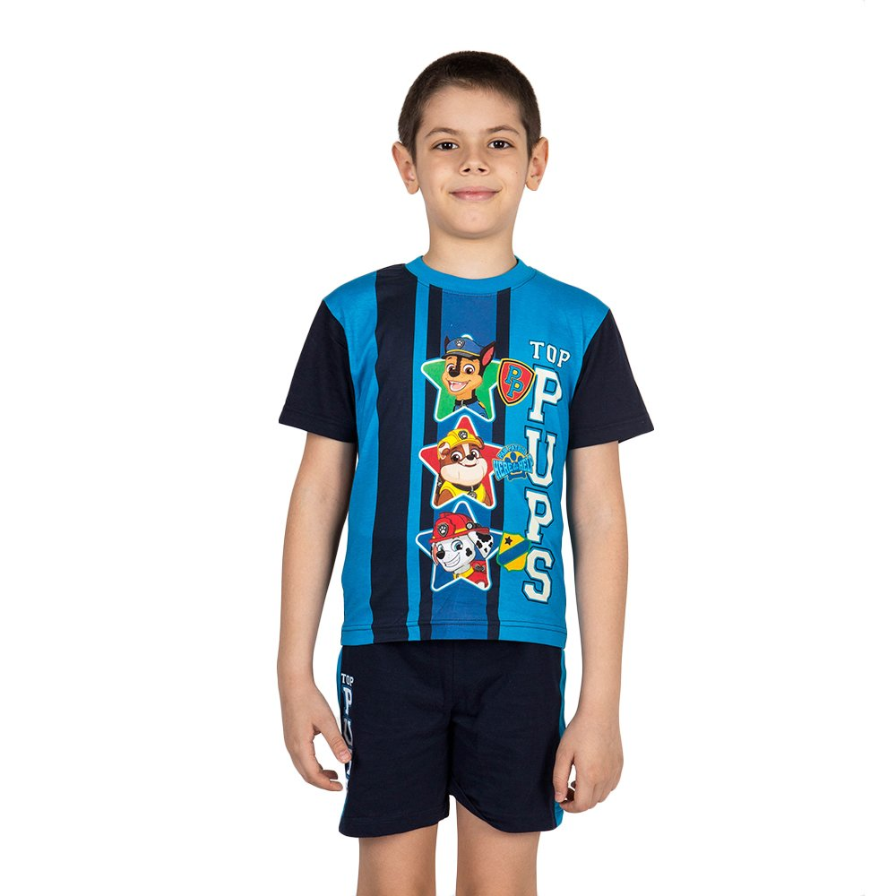 Compleu baieti Paw Patrol top pups black blue