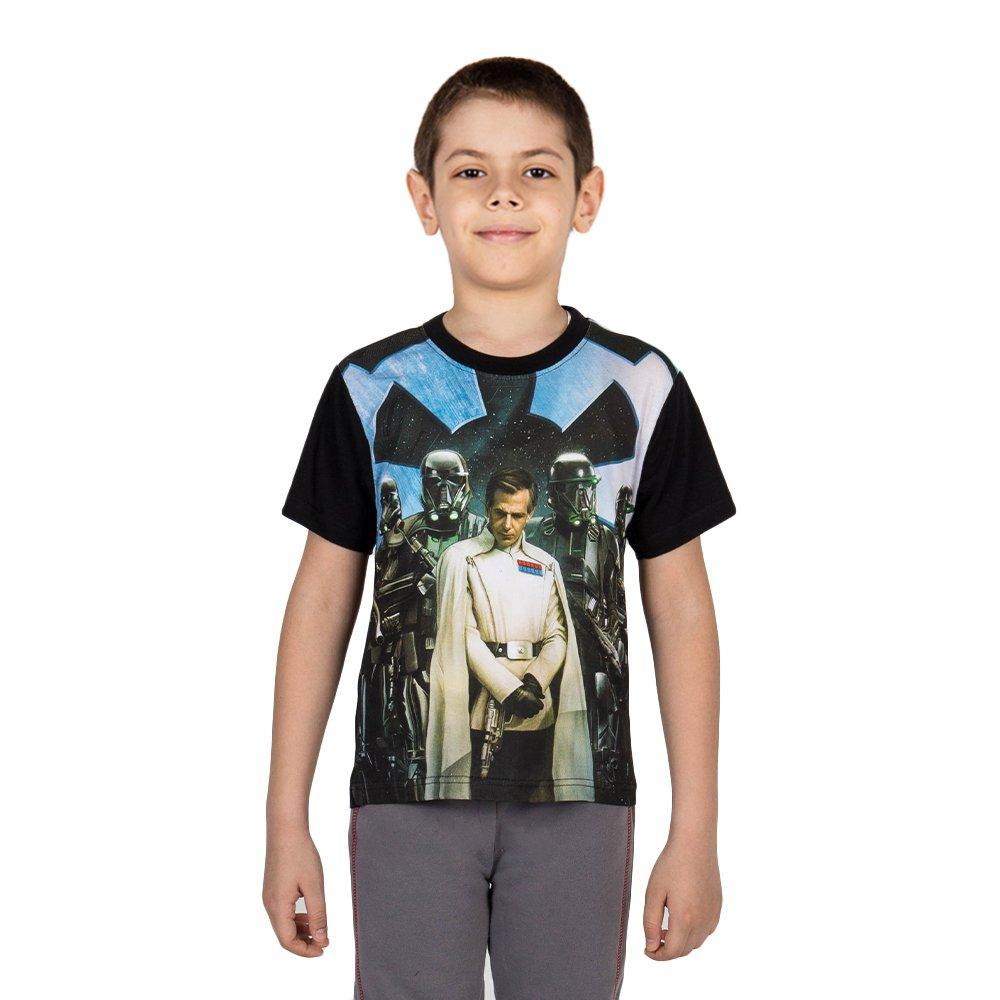 Tricou baieti Star Wars negru
