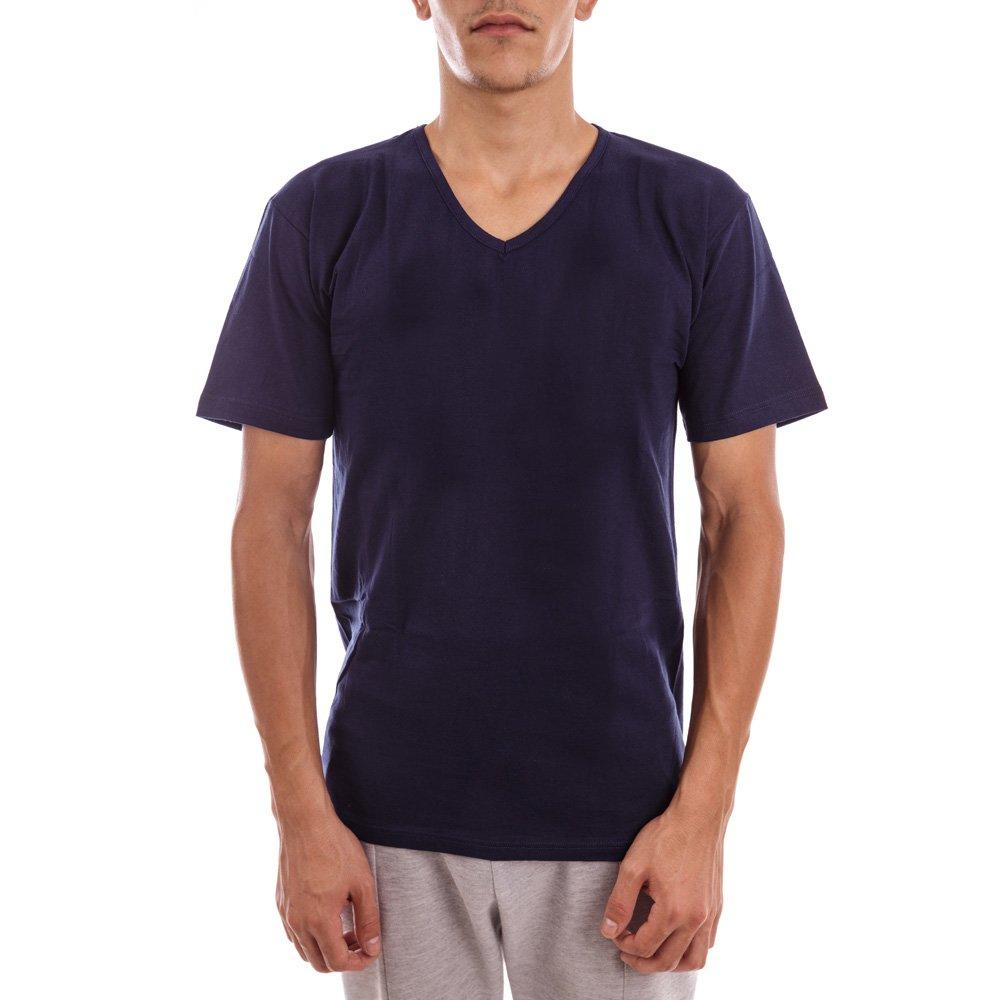 Tricou barbati Blu Blu albastru cu anchior