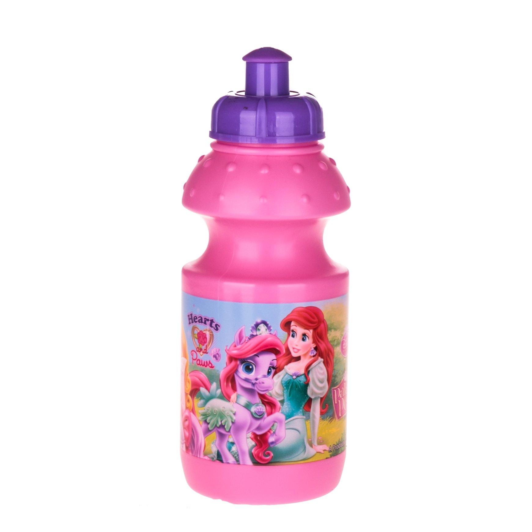 Bidon apa Printesele Disney roz