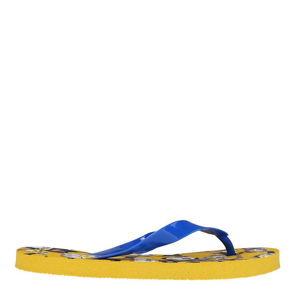 Slapi copii Minions galbeni cu albastru