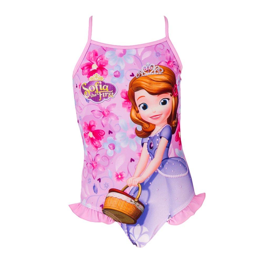 Costum de baie fete Printesa Sofia roz