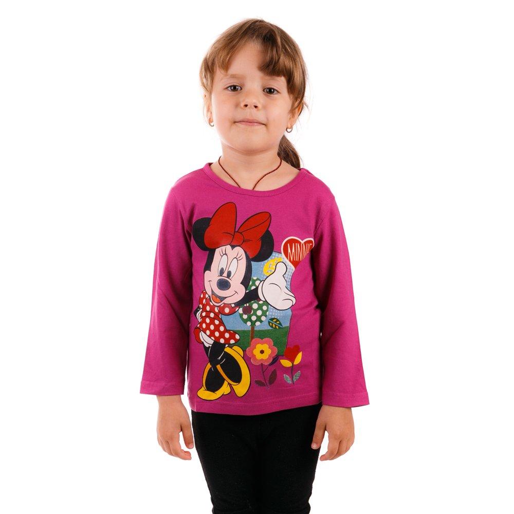 Tricou maneca lunga fete Minnie Mouse