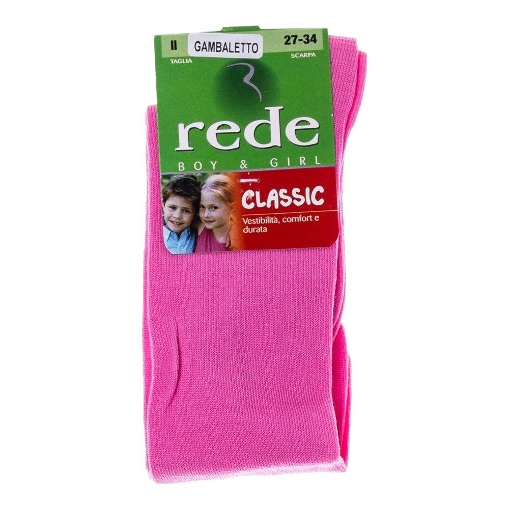 Sosete lungi copii Rede Classic roz