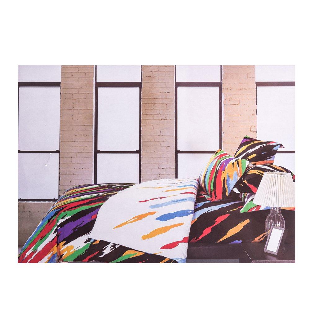 Lenjerie de pat Ralex imprimeu pete colorate