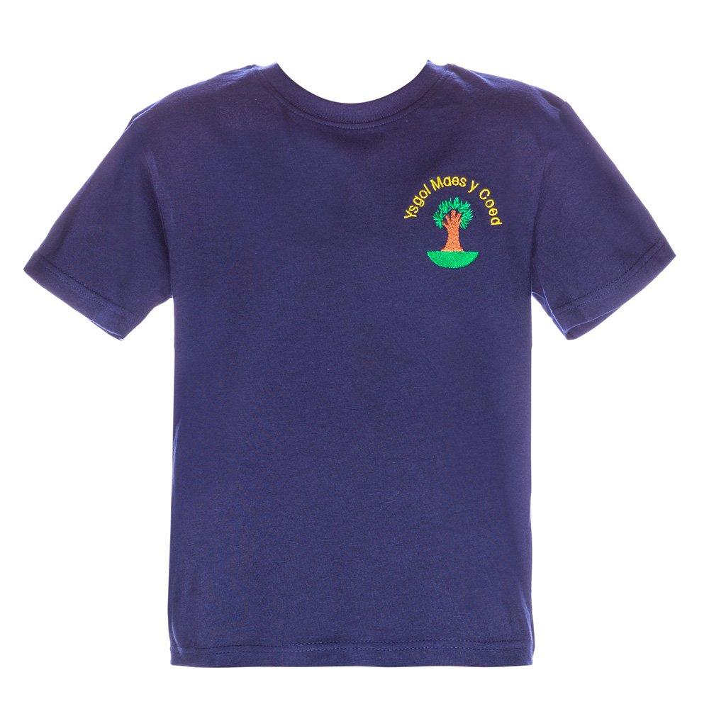 Tricou Clasic Copii School Navy
