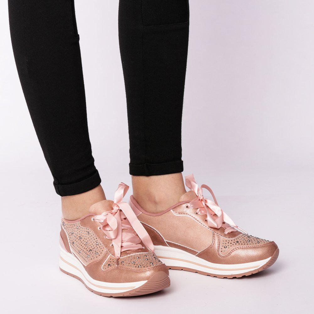 Pantofi sport dama Jessa roz