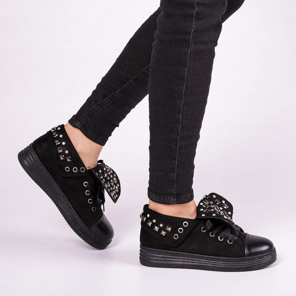 Pantofi sport dama Julles negri