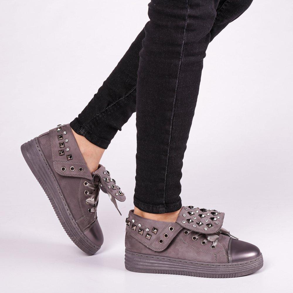 Pantofi sport dama Julles gri