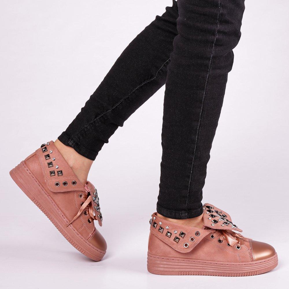Pantofi sport dama Julles roz