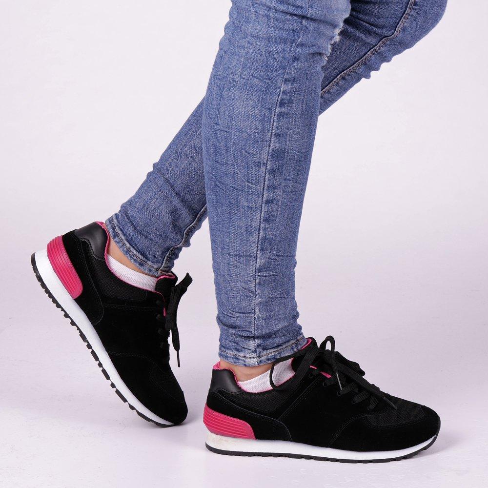 Pantofi sport dama Fly negri