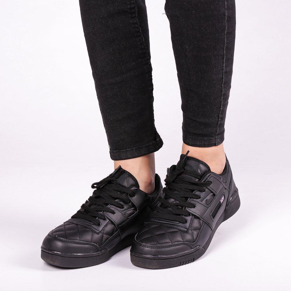 Pantofi sport unisex Deluna negri
