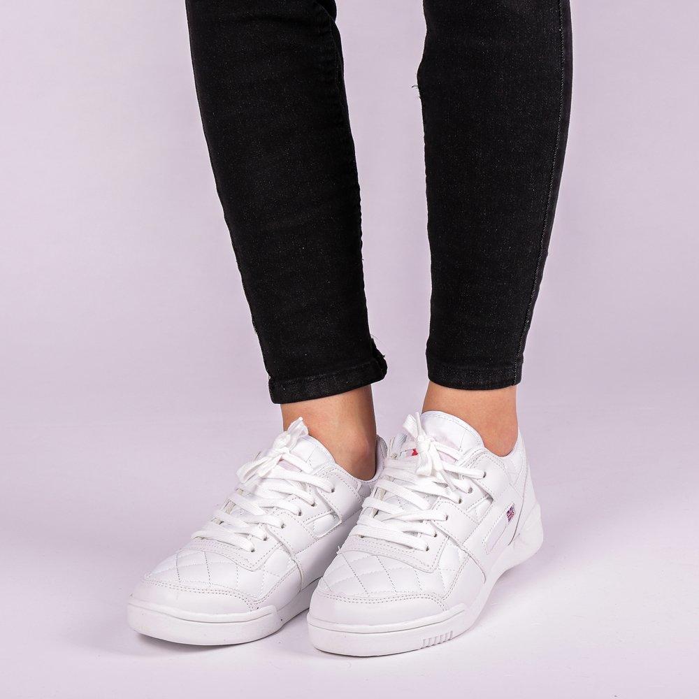 Imagine indisponibila pentru Pantofi sport unisex Deluna albi