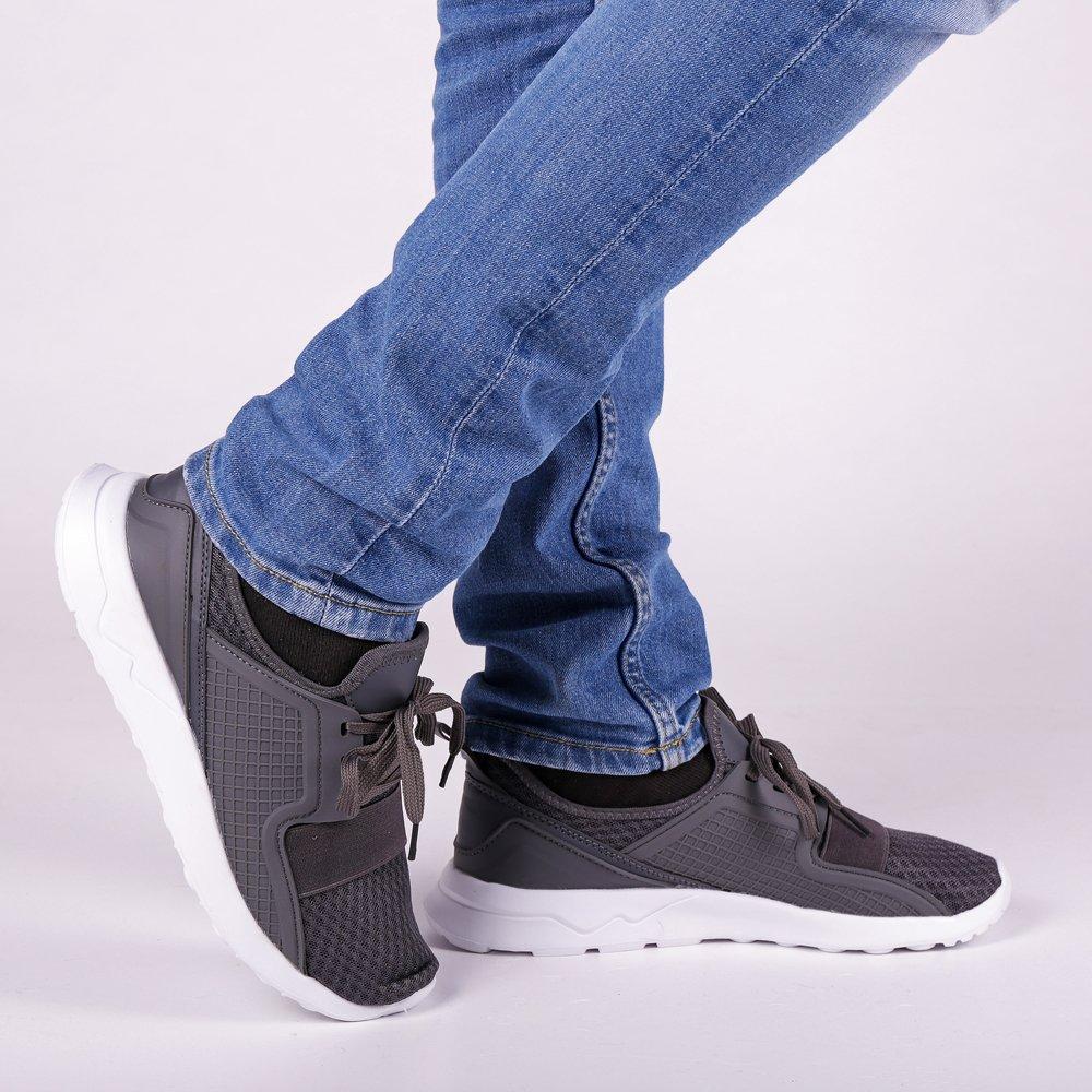 Pantofi Sport Barbati Daniel Gri