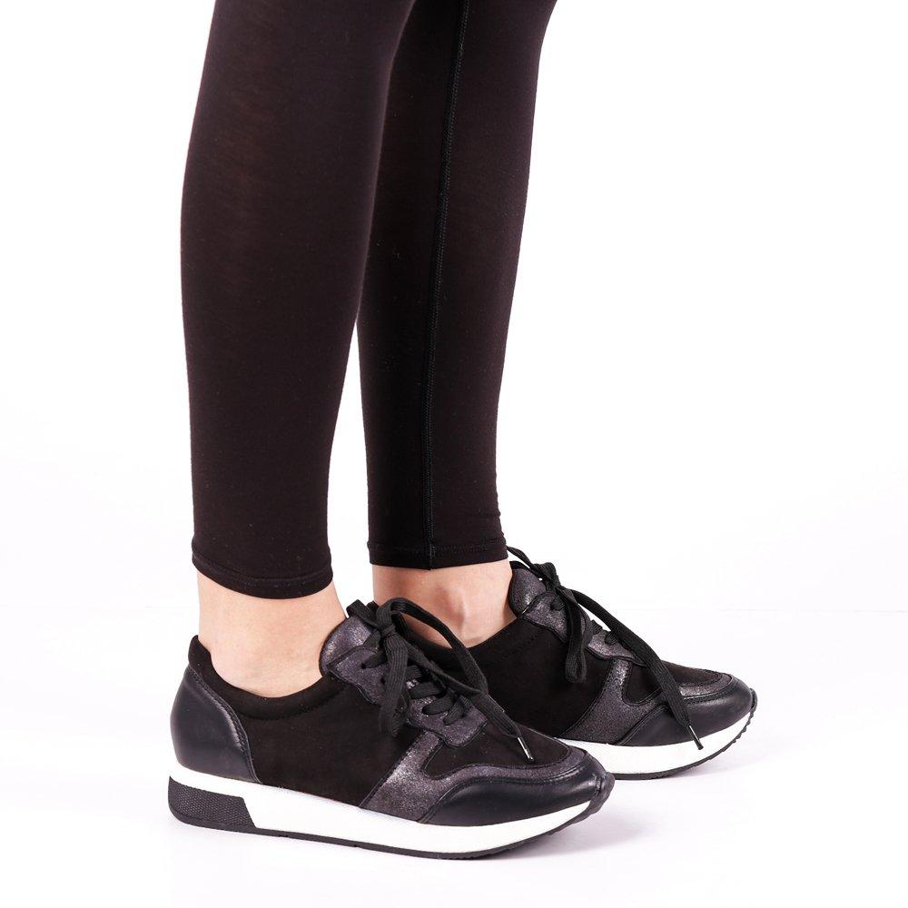 Pantofi sport dama Iona negri