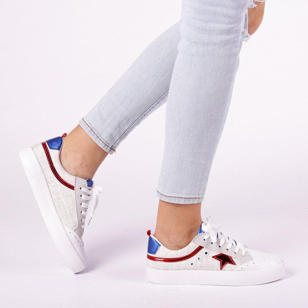 Pantofi sport dama Cecilia rosii
