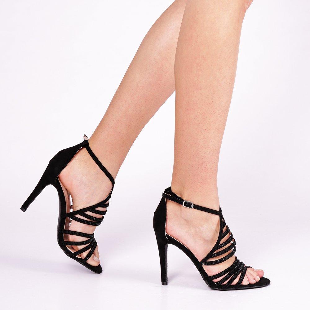 Sandale dama Iona negre